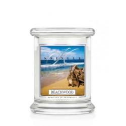Kringle Świeca w szkle 50h Drewno z plaży