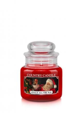 Country Candle Świeca w szkle Jingle All The Way 104g