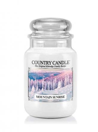 Country Caandle Świeca w szkle 652g Mountain Sunrise