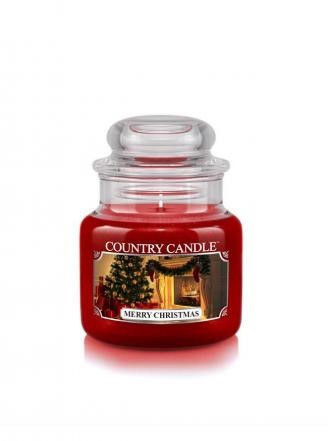 Country Candle Merry Christmas Mały słoik 104g