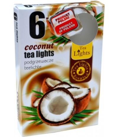 B.Podgrzewacze zapachowe kokos 6szt