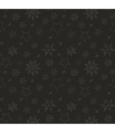 Paw Ins Serwetki świąteczne 33/33 czarne