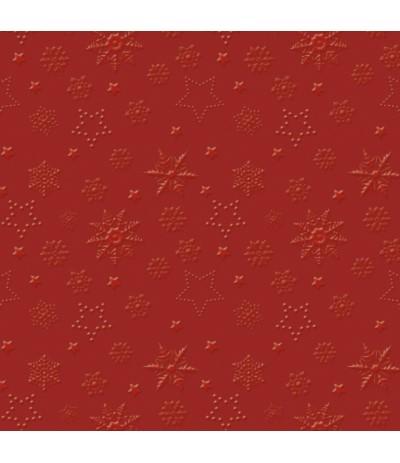 Paw Ins Serwetki świąteczne 33/33 czerwień