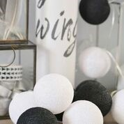 Cotton Black&White 20