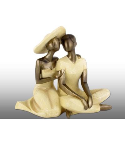 H.Figurka Para siedziąca
