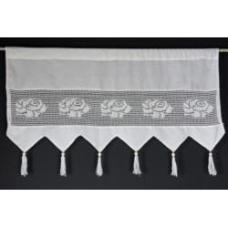 I.Zazdrostka koronka+ tkanina krem 50/100
