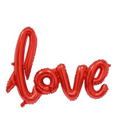 G.Balon foliowy napis Love 68cm