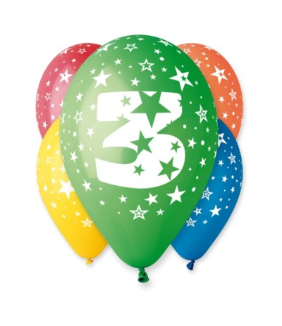 G.Balon z nadrukiem 5szt 3
