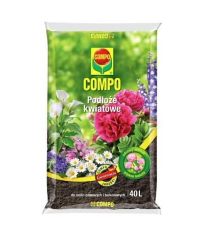 Compo Podłoze uniwersalne- kwiatowe 40l