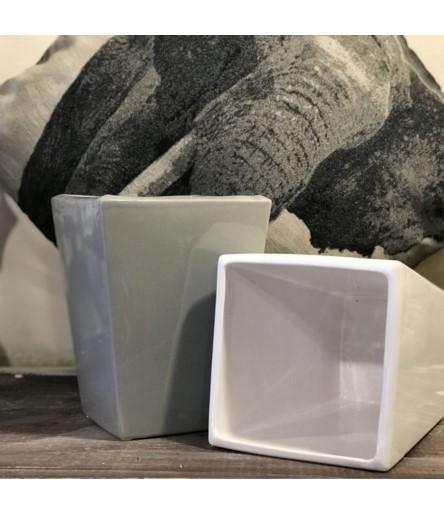 Osłonka ceramiczna Kamil h-23 biała