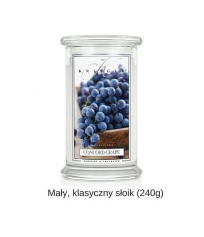 Kringle Świeca w szkle 50h Concord Grape