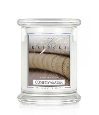 Kringle Świeca w szkle 50h Comfy Sweater