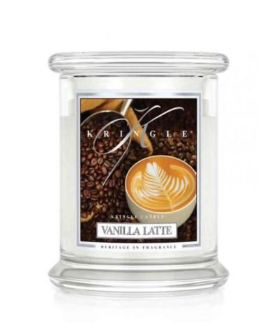 Kringle Świeca w szkle 50h Vanilla Latte