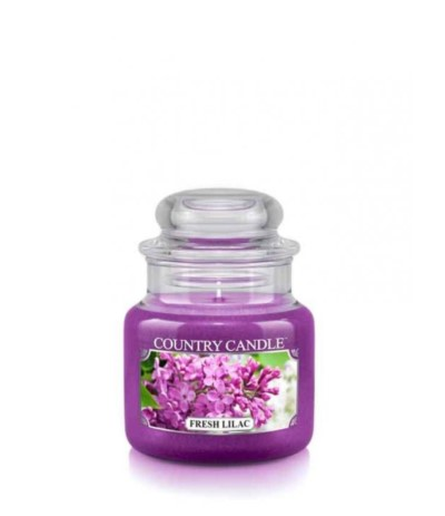 Country Świeca w szkle 104g Fresh Lilac