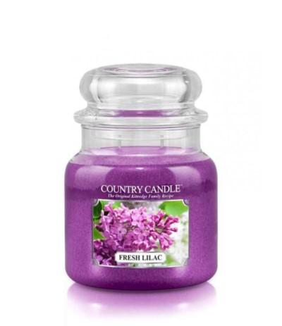 Country Świeca w szkle 453g Fresh Lilac