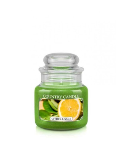 Country Świeca w szkle 104g Citrus and Sage