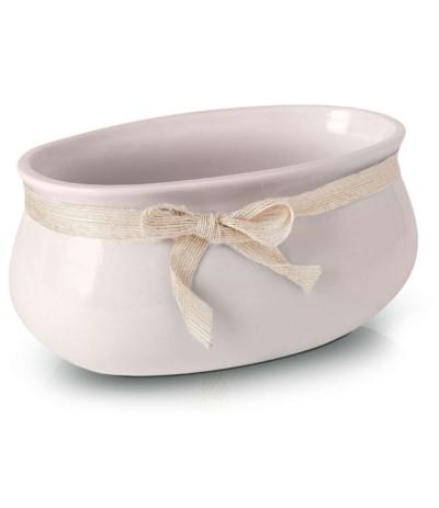 P.Lisbon osłonka ceramiczna rynna 18 róż