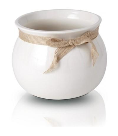 P.Lisbon Osłonka ceramiczna z kokardką