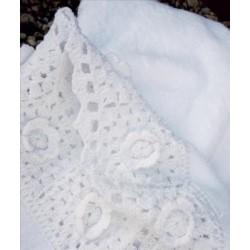 I.Koronka ręcznik 70/140 biały