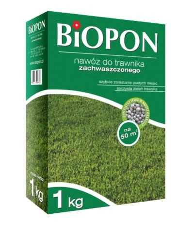 Biopon Nawóz do trawnika zachwaszczonego