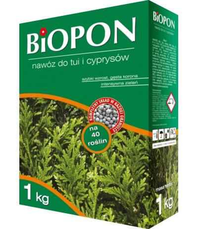 Biopon Nawóz do tui i cyprysów 1kg
