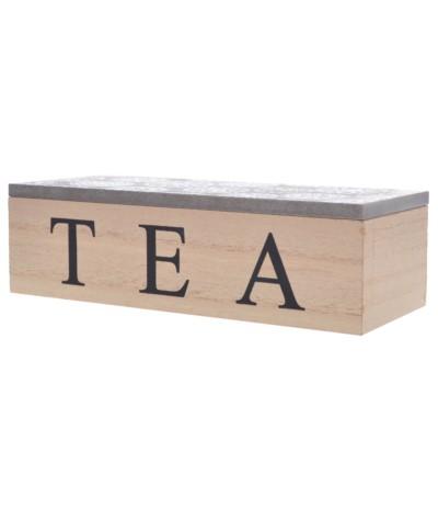E.Pudełko na herbatę