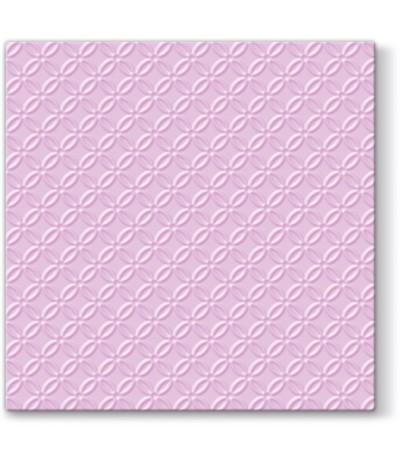 Paw Ins Serwetki papierowe tłoczone 33/33 20sz róż
