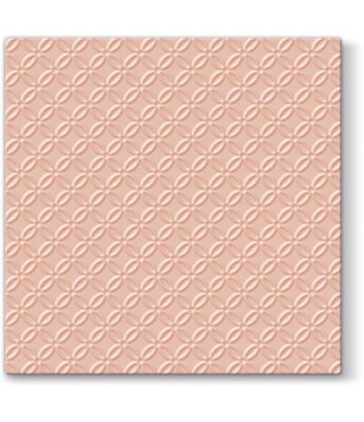 Paw Ins Serwetki papierowe tłoczone 33/33 20sz łosoś