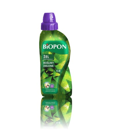 Biopon żel do zielonych 500ml