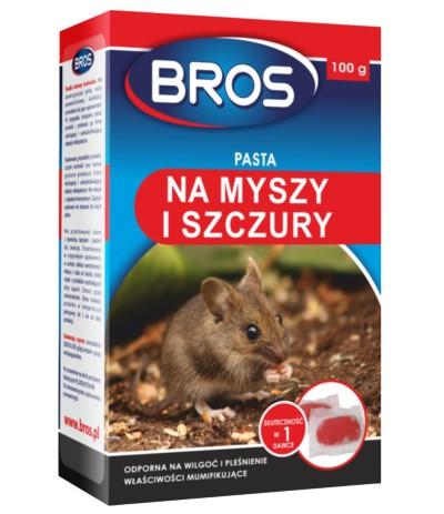 Bros Pasta na myszy i szczury 230 g
