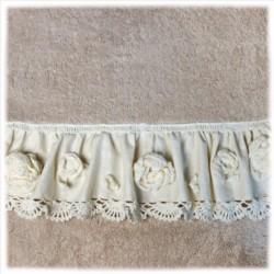 I.Falbanka ręcznik 50/90 beż