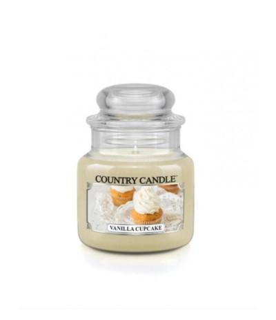Country Świeca w szkle 104g Vanilla Cupcake