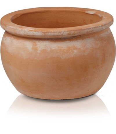 P.Tuscan Round Pot Donica ceramiczna 38cm, h25
