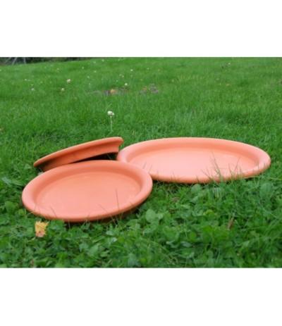 C.Podstawka ceramiczna 32cm terakota