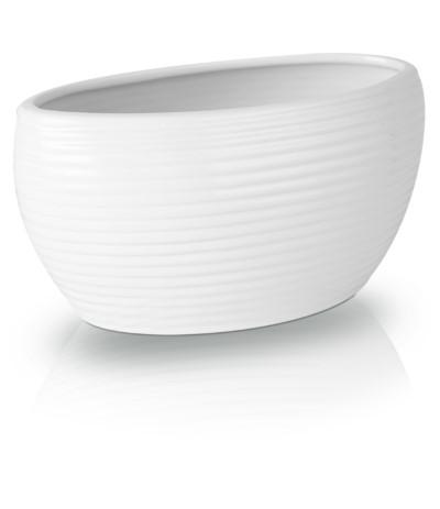 P.Osłonka ceramiczna rynna biała