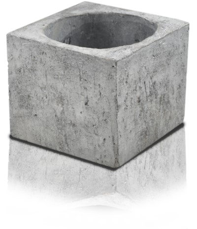 P.Etno osłonka kwadrat 17 szara