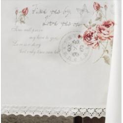 I.Romantyczna róża- obrus