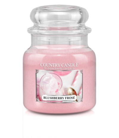 Country Candle Świeca w szkle 453g Blushberry Frose