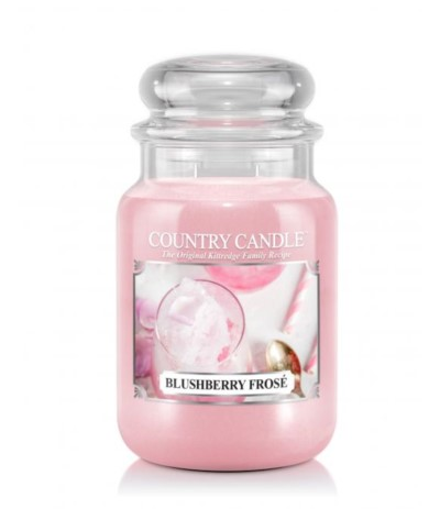 Country Candle Świeca w szkle Blushberry Frose 652g
