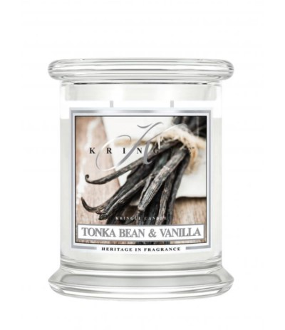 Kringle Candle Świeca w szkle 454g Tonka Bean& Vanilla