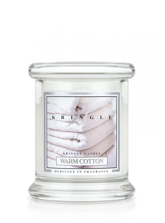 Kringle Świeca w szkle Warm Cotton 128g