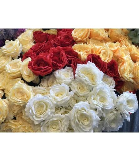V.Róża sztuczna czerwona