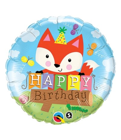 G.Balon foliowy 46cm Happy Birthday