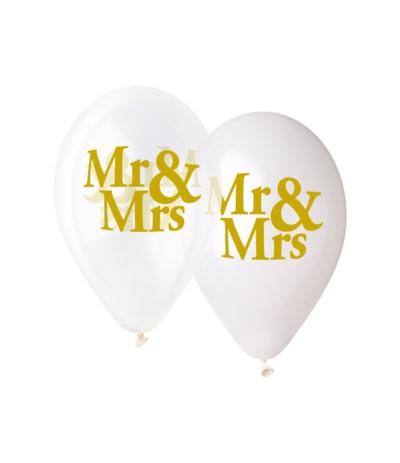 G.Balony premium Mr&Mrs 5szt