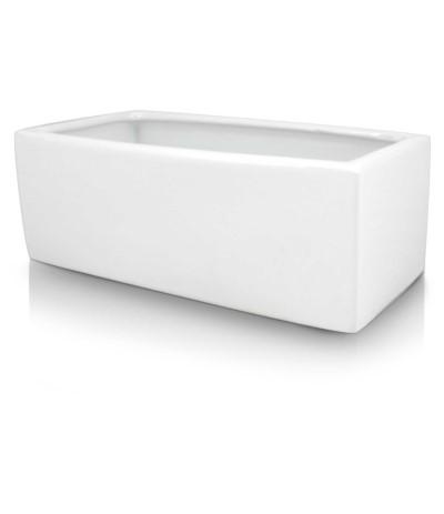 P.Piano Osłonka ceramiczna rynna 25 biała