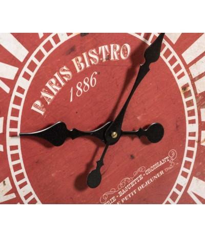 Vintage Zegar Paris Bistro