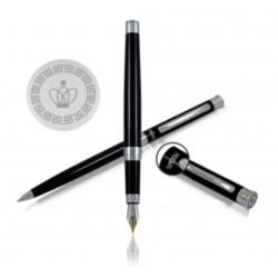 H.Regal Pióro ze stalówką+ długopis black Lane w etui
