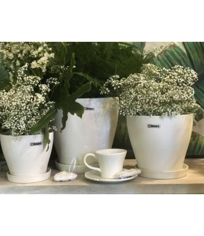Dol Donica ceramiczna biała