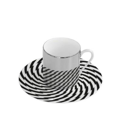 R.Magic Cup Filiżanka z podstawką D 120ml