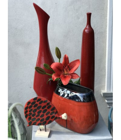 Butla ceramiczna czerwona